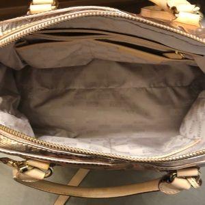 MICHAEL Michael Kors Bags - Michael Kors rose gold satchel